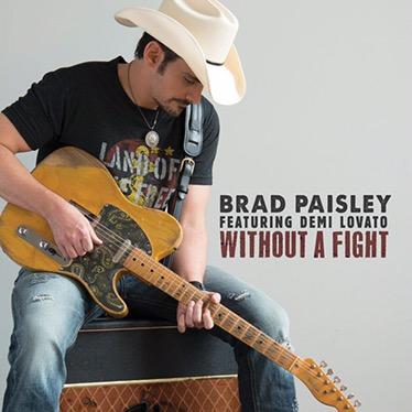 """Without a fight"" nueva canción de Brad Paisley junto a Demi Lovato"