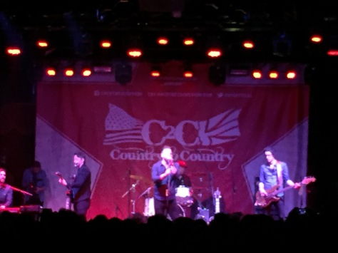 David Nail en Brooklyn Bowl, C2C Londres 2016
