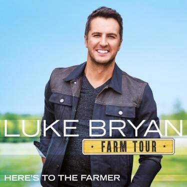 """""""Farm Tour…Here's To The Farmer"""" nuevo EP de Luke Bryan el 23 de septiembre"""