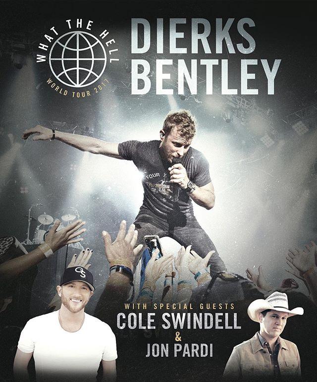 Dierks Bentley anuncia nueva gira mundial!!