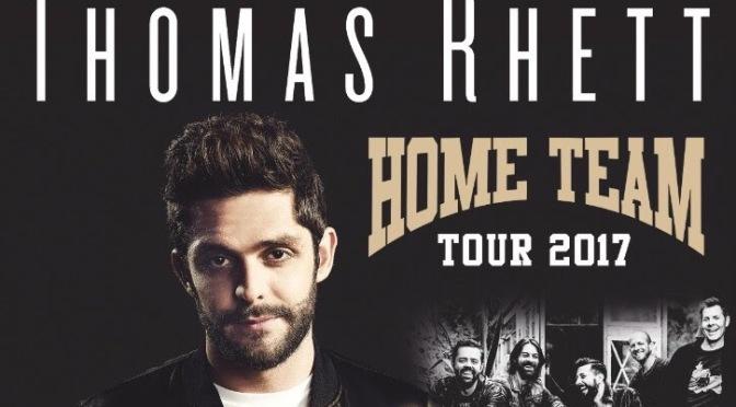 Thomas Rhett y Old Dominion vuelven a Reino Unido en noviembre