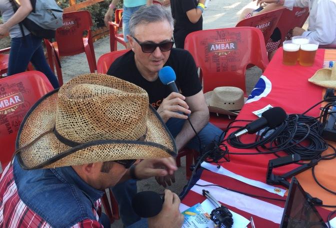 """Entrevista a Felix Moracho, Presidente de Huercasa: """"aspiramos a que este año salga un festival potente, que haya gran afluencia, que la gente quede satisfecha y contenta"""""""