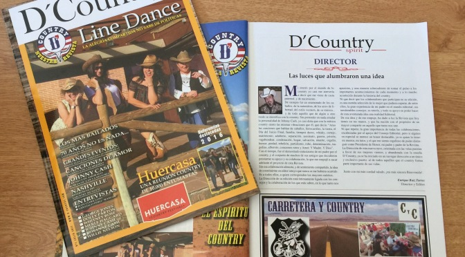 Llega D'Country Spirit, la revista para toda la familia country