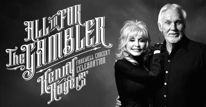 Kenny Rogers se despide con un gran concierto en Nashville junto a Dolly Parton
