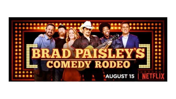 Brad Paisley's Comedy Rodeo ha llegado a Netflix