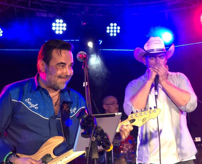 Folsom Prison Band y The Wild Horses: Abierto hasta el Amanecer en Chanoe este sábado
