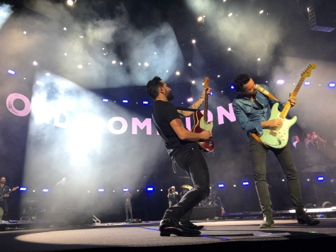 Old Dominion en el reciente C2C en Londres. Foto: CyC