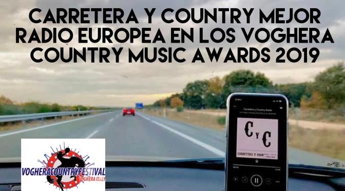 Carretera y Country Mejor Radio Europea en los Voghera Country Awards (Italia) en unos premios con una buena cosecha para el country español, incluidos The Barroom Buddies, Mejor Banda